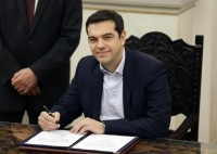 Alexis Tsipras           ANSA/AP Photo/Thanassis Stavrakis