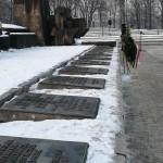 Il monumento nel Campo di Birkenau